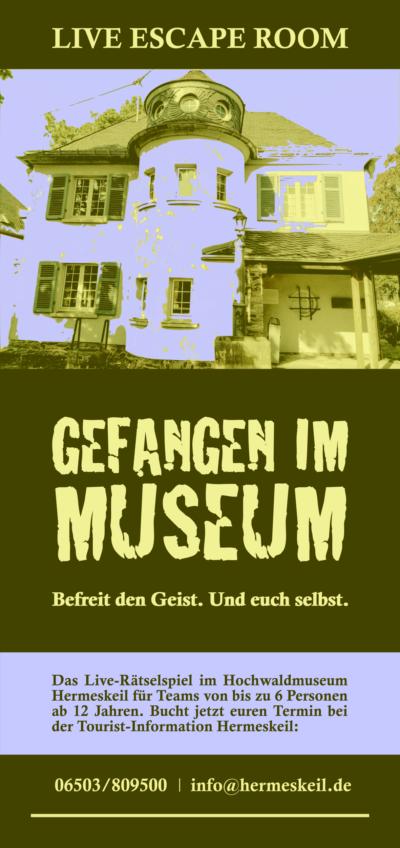 Live Escape Room: Gefangen im Museum